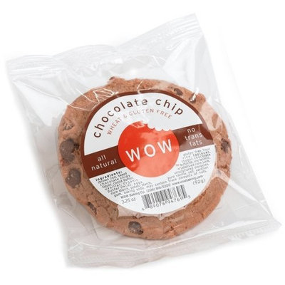 Wow Baking Company WOW Baking- Chocolate Chip Cookie, All Natural, Wheat & Gluten Free, 2.75 cookies