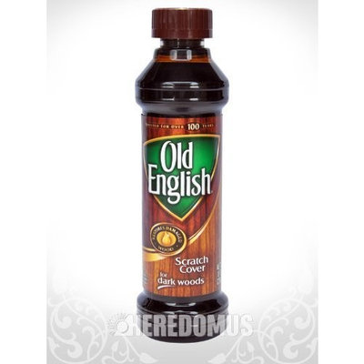 Old English English Scratch Cover for Dark Wood - 8 oz