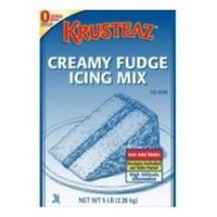 Continental Mills Krusteaz Fudge Creamy Icing Mix, 5 Pound -- 6 per case.