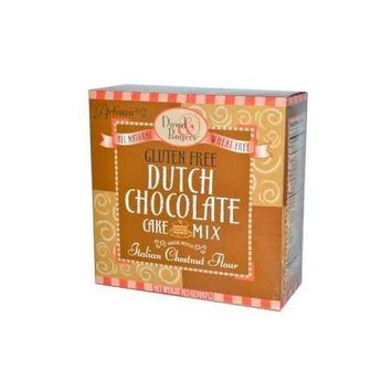 Funfresh Foods Dowd & Rogers Gluten Free Cake Mix, Dutch Chocolate, 14.5 Ounce