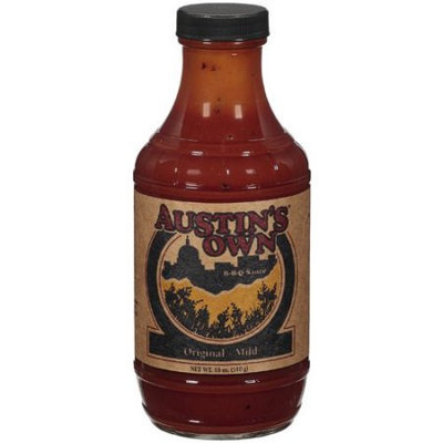 Autin's Austin's Own: B-B-Q Original Mild Sauce, 18 Oz