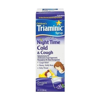 Triaminic Nighttime Cough & Cold Liquid-8oz