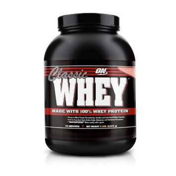 Optimum Nutrition Classic Whey, Delicious Strawberry, 5 Pound