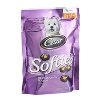 Cesar Canine Cuisine Softies Filet Mignon Flavor Bite-Sized Treats