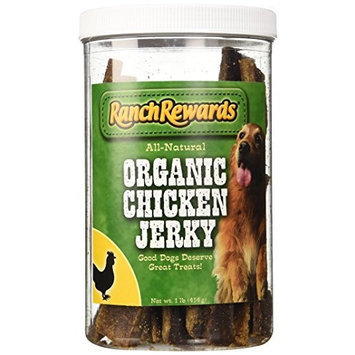 Ranch Rewards Dog Organic Jerky Treat, Chicken