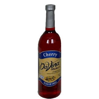 DaVinci Gourmet DaVinci Gourmet Cherry Syrup Sugar Free 25.4-Ounce Bottle Cherry 750 mL