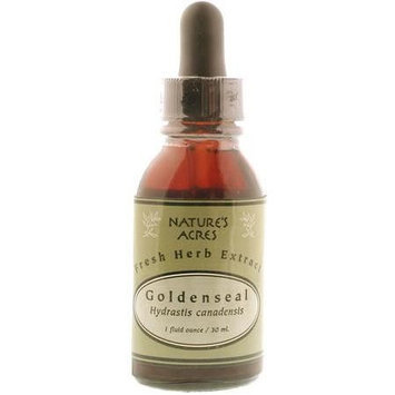 Four Elements - Fresh Herb Extract, Goldenseal, 1 oz