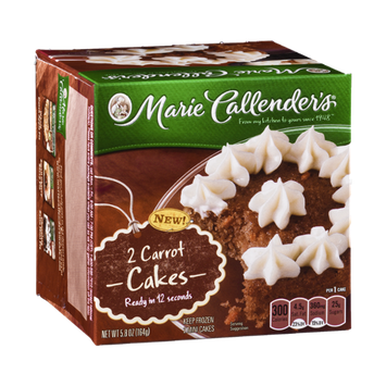 Marie Callender's Carrot Cakes - 2 CT