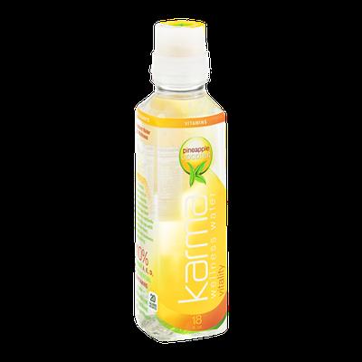 Karma Wellness Water Vitality Pineapple Coconut