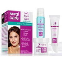 A.I.I. Clubman SurgiCare Soft Face Wax for Sensitive Skin, Hair Removal 1 Kit