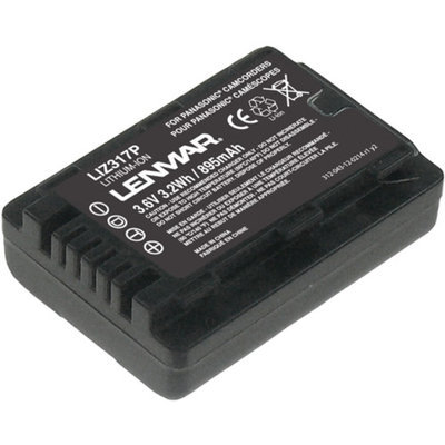 Lenmar LIZ317P Replacement Battery for Panasonic VW-VBL090 Camcorder