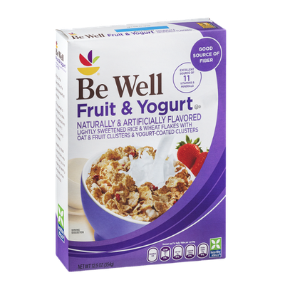 Ahold Be Well Fruit & Yogurt Cereal
