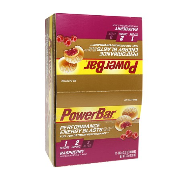 PowerBar Energy Gel Blasts Gel Filled Chews