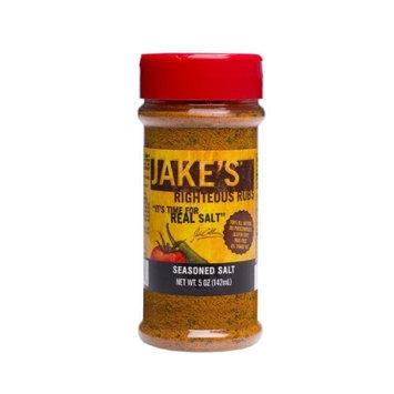 Jake's Righteous Rubs Jake's Seasoned Salt, 5.0-Ounce (Pack of 4)