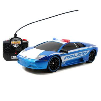 Jada Toys, Inc. jada toys Heat 1: 16 Police Vehicle R/C: Lamborghini Murcielago