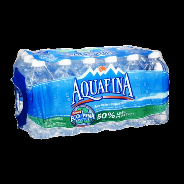 Aquafina Purified Drinking Water- 24 PK