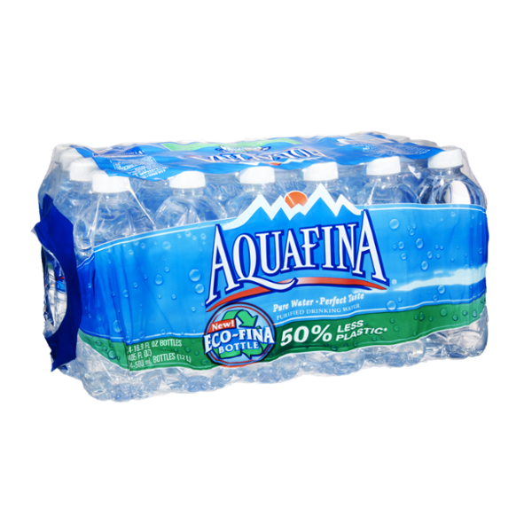 Aquafina Purified Drinking Water- 24 PK