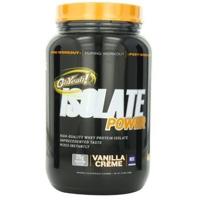 ISS, Isolate Powder Vanilla Creme 2 lbs