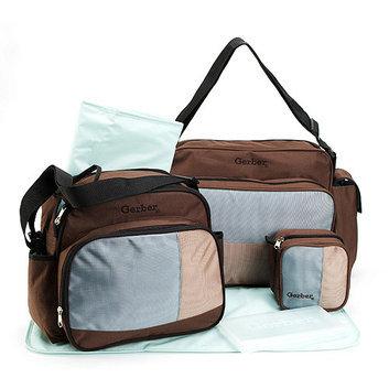 Gerber - Combo Mini and Large Diaper Bag Set