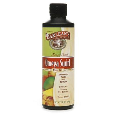 Barlean's Organic Oils Omega Swirl Omega-3 Fish Oil Supplement