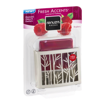 Renuzit Fresh Accents Scented Gel Holder Raspberry