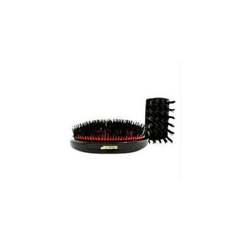 Mason Pearson 13260037509 Boar Bristle - Large Extra Military Pure Bistle Large Size Hair Bush -Dark Ruby - 1pc
