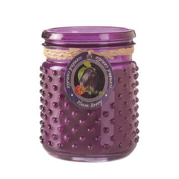 Koehlerhomedecor Plum Berry Hobnail Jar Candle