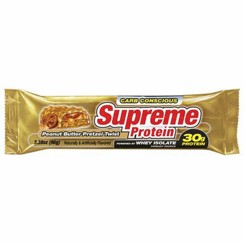 Supreme Protein Peanut Butter Pretzel Twist Bar