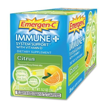 Emergen-C Immune + System Support with Vitamin D – Citrus