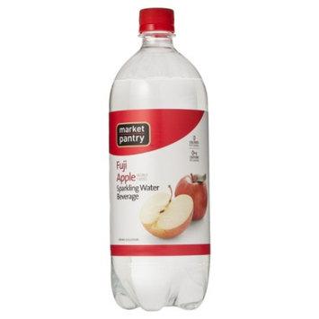 market pantry Market Pantry Fuji Apple Sparkling Water Beverage 1 Liter