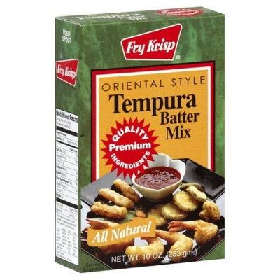 Fry Krisp Batter Mix Tempura, 10-Ounce (Pack of 12)