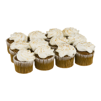 LaBree's Bakery Home Style Mini Carrot Cupcakes - 12 CT