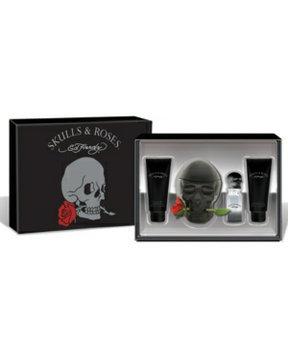 Ed Hardy Skulls & Roses Gift Set for Men