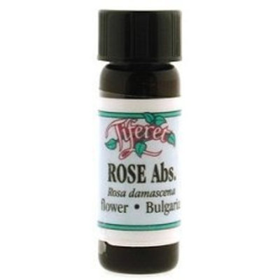 Tiferet Aromatheraphy Tiferet Aromatherapy: Blue Glass Aromatic Oils, Rose Abs Bulgaria 2.5 ml