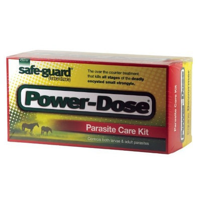 MERCK ANIML HEALTH EQUINE Merck Animal Health Safe-Guard Powerdose Display Paste (5 Pack), 57 gm