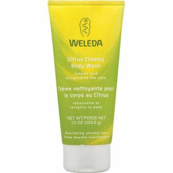 Weleda Creamy Body Wash Citrus 7.2 fl oz