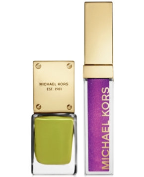 Michael Kors Sporty Collection Lip Luster & Nail Gift Set