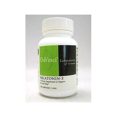 DaVinci Laboratories - Melatonin-3 3 mg. - 120 Capsules