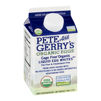 Pete And Gerry's Organic Eggs Liquid Egg Whites Cage Free