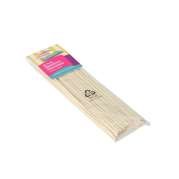 Bbq Pro BBQ Pro 90 Bamboo Skewers - TAIWAN NAN SHAN BAMBOO WARE CO