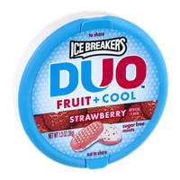 Ice Breakers Duo Strawberry Sugar Free Mints