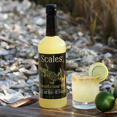 Scales Cocktails Scales Sweet & Sour Mix, 0 carb, 0 sugar cocktail mixer
