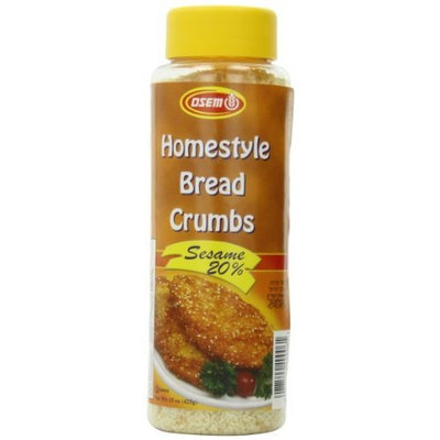 Osem Sesame Bread Crumbs, 15.0-Ounce Packages (Pack of 12)