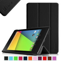 Fintie SmartShell Case for Google Nexus 7 FHD 2nd Gen 2013 Android Tablet with Auto Wake / Sleep, Black