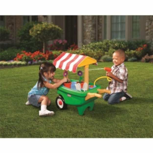 Little Tikes 2-in-1 Garden Cart & Wheelbarrow, 1 ea