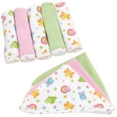 Especially for Baby Washcloths Girls - 8-Pack