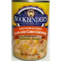 Bookbinders Bookbinder Southwest Clam and Corn Chowder, 10.5-Ounce (Pack of 6)