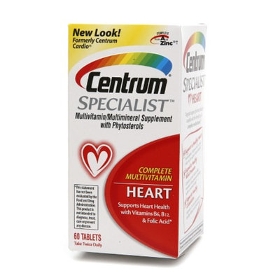 Centrum Specialist Complete Multivitamin:  Heart