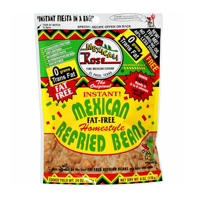 Mexicali Rose : Fat Free Refried Beans The Original World's Greatest Instant Home Style