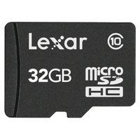 Lexar 32GB MicroSD Memory Card - Black (SDMI32TV10)